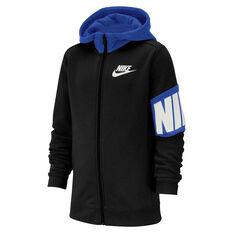 79292add Nike Boys Sportswear Full Zip Hoodie Black XS, Black, rebel_hi-res ...