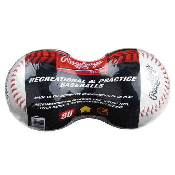 Rawlings Recreational 2 Pack Baseball, , rebel_hi-res