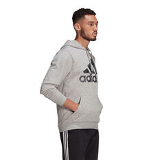 adidas Mens Camo Hoodie, Grey, rebel_hi-res