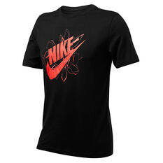 Nike Mens Sportswear Remix Tee Black XS, Black, rebel_hi-res