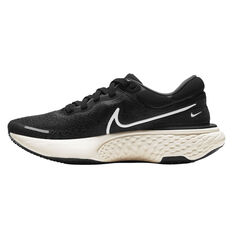 Nike ZoomX Invincible Run Flyknit Womens Running Shoes Black/White US 6, Black/White, rebel_hi-res