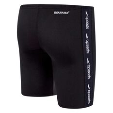 Speedo Boys Superiority Jammer Black / White 8, Black / White, rebel_hi-res