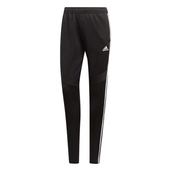 adidas Womens Tiro 19 Training Pants, Black / White, rebel_hi-res