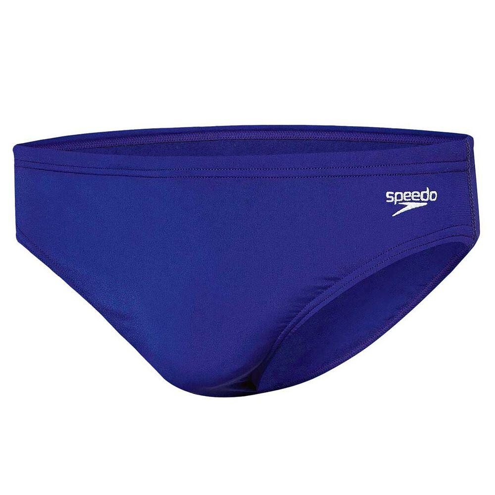 b700d3bba9 Speedo Mens 5cm Endurance Swim Briefs Blue 22 Adult, Blue, rebel_hi-res