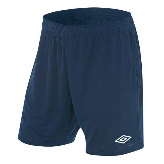 Umbro League Mens Football Shorts, Navy, rebel_hi-res