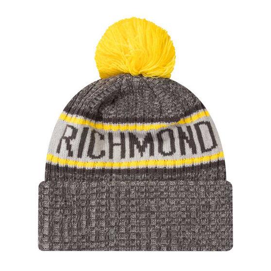 Richmond Tigers New Era 6 Dart Cuff Beanie, , rebel_hi-res