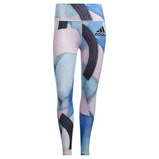 adidas Womens Believe This 2.0 Nini Sum Training Tights Multi XS, Multi, rebel_hi-res