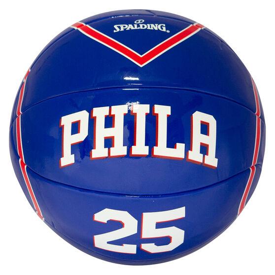 Spalding NBA Jersey Ben Simmons Mini Basketball, , rebel_hi-res