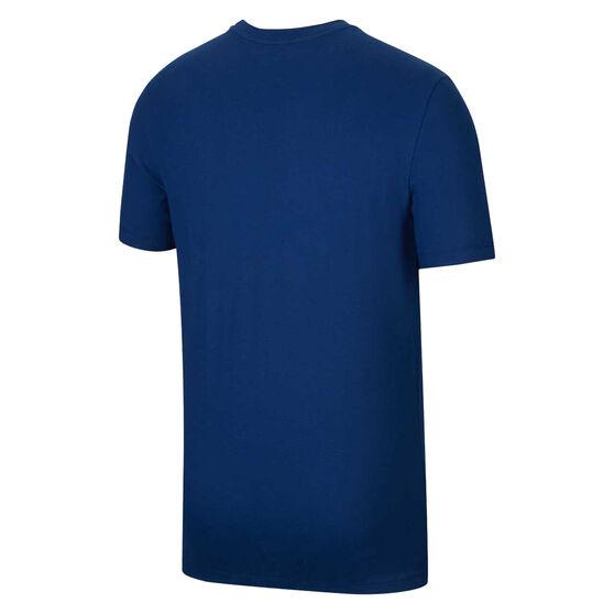 Nike Mens Dri-FIT LeBron Logo Basketball Tee, Blue, rebel_hi-res
