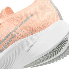Nike Air Zoom Tempo Next% Womens Running Shoes, Orange/Grey, rebel_hi-res