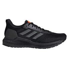 adidas Solar Ride Mens Running Shoes Black / Grey US 7, Black / Grey, rebel_hi-res