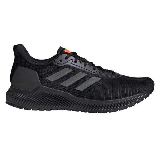 adidas Solar Ride Mens Running Shoes, Black / Grey, rebel_hi-res