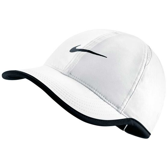 Nike Featherlight Cap White / Black OSFA, White / Black, rebel_hi-res