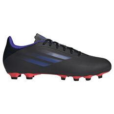 adidas X Speedflow .4 Kids Football Boots Black US 11, Black, rebel_hi-res
