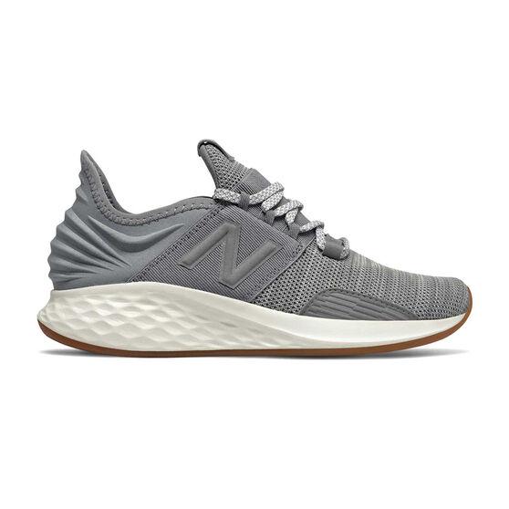 New Balance Fresh Foam Roav Womens Running Shoes, Grey, rebel_hi-res
