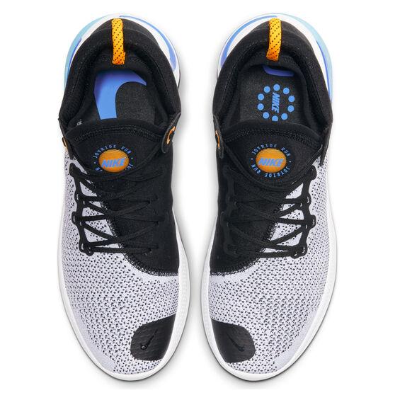 Nike Joyride Mens Running Shoes, Black / Orange, rebel_hi-res