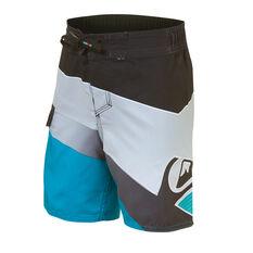 Quiksilver Boys Slash Fade Logo 12in Board Shorts Black 2, Black, rebel_hi-res