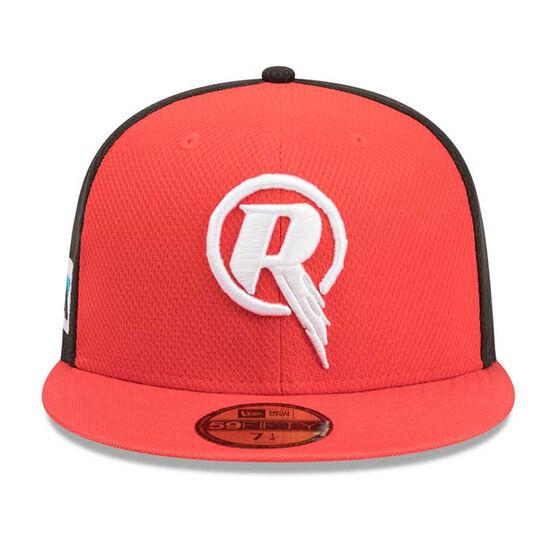 Melbourne Renegades New Era 59FIFTY Home Cap, Red, rebel_hi-res