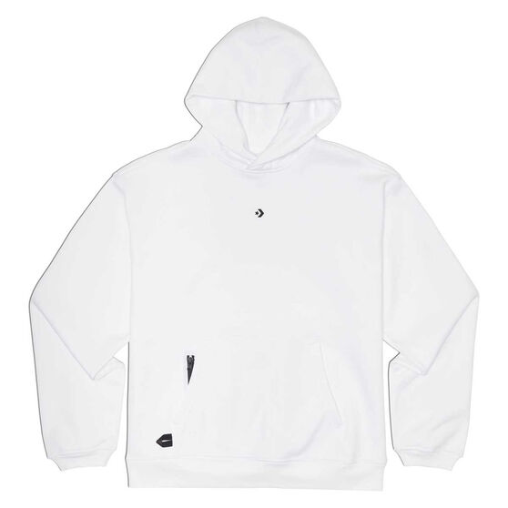 Converse Adult Court Ready Hoodie, White, rebel_hi-res