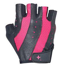Harbinger Womens Pro Training Gloves Black / Pink S, Black / Pink, rebel_hi-res