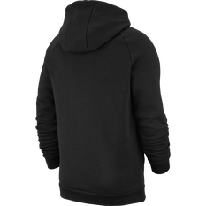 Nike Mens Jordan Jumpman Logo Fleece Pullover Hoodie Black XS, Black, rebel_hi-res