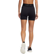 adidas Womens Techfit Badge Of Sport Tights, Black, rebel_hi-res