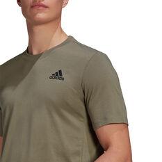 adidas Mens Primegreen Training Tee, Brown, rebel_hi-res