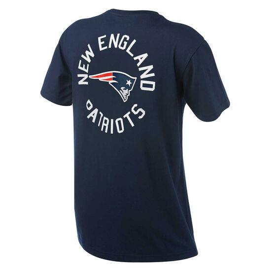 New England Patriots Mens Drimer Tee, Navy, rebel_hi-res