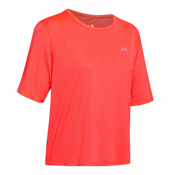 Under Armour Womens Armour Sport Tee, Red, rebel_hi-res