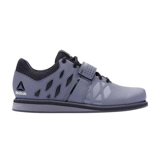 Reebok Lifter PR Mens Training Shoes, Grey / Black, rebel_hi-res