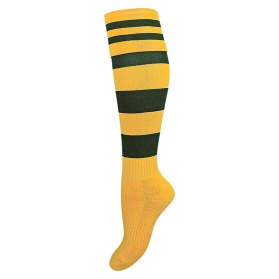 Burley Australia Kids Football Socks, , rebel_hi-res