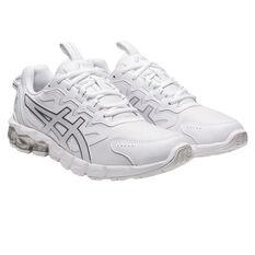 Asics GEL Quantum 90 Womens Casual Shoes, White/Silver, rebel_hi-res