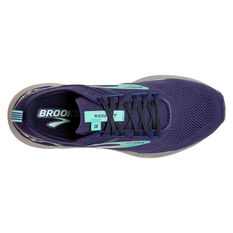 Brooks Ricochet 3 Womens Running Shoes, Navy, rebel_hi-res