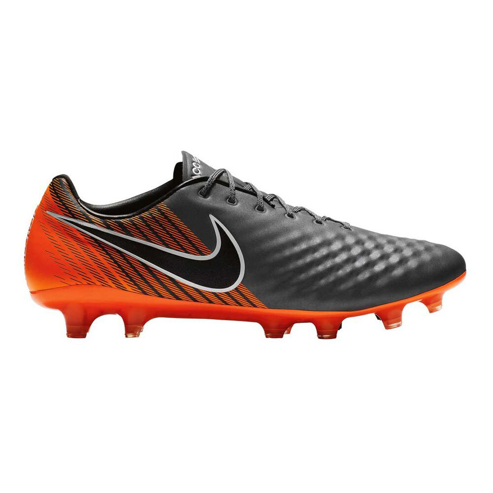 finest selection e99e2 51e59 Nike Magista Obra II Elite FG Mens Football Boots Grey   Orange US 7 Adult,