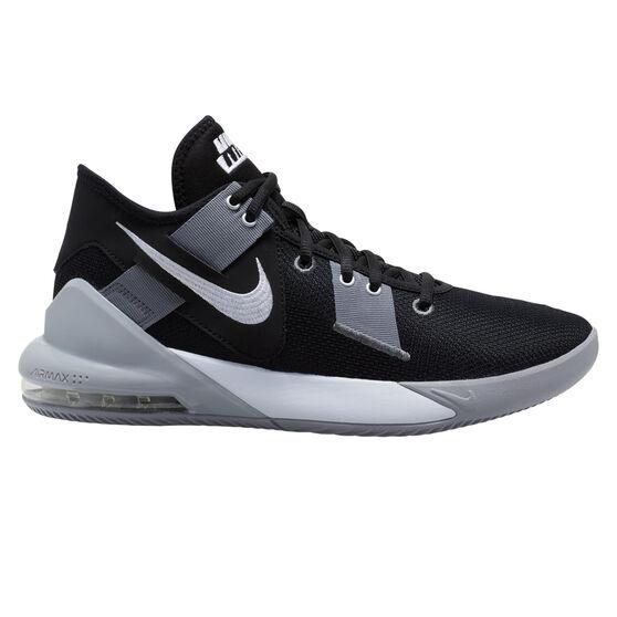 Nike Air Max Impact 2 Mens Basketball Shoes, Black/White, rebel_hi-res