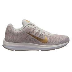 Nike Zoom Winflo 5 Womens Running Shoes Pink / White US 6, Pink / White, rebel_hi-res