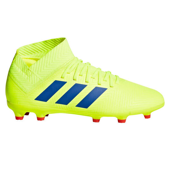 adidas Nemeziz 18.3 Kids Football Boots, Yellow / Blue, rebel_hi-res
