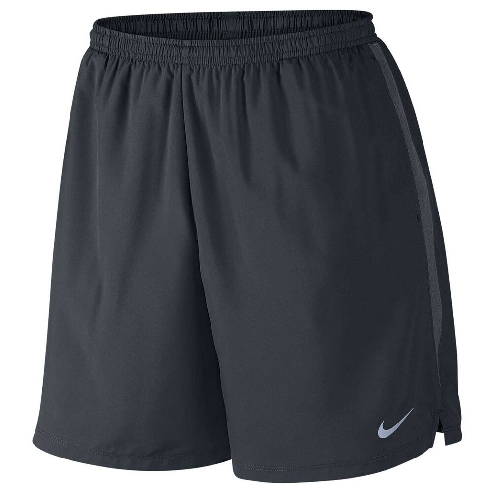 ff60be342c8e Nike Mens Challenger 7in Running Shorts Black   Grey S Adult
