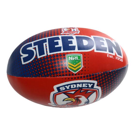 Gray Nicolls NRL Sydney Roosters Sponge Rugby Ball, , rebel_hi-res