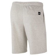 Nike Mens Sportswear Just Do It Shorts Grey S, Grey, rebel_hi-res