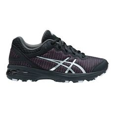 Asics Gel Netburner Professional Girls Shoes Black / Silver US 1, Black / Silver, rebel_hi-res