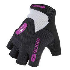 Sugoi Womens RC Pro Cycling Gloves Black / White XS, Black / White, rebel_hi-res