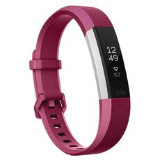 Fitbit Alta HR Activity Tracker L Fuchsia, , rebel_hi-res