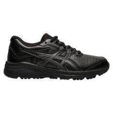 Asics GT 1000 SL Kids Running Shoes Black US 1, Black, rebel_hi-res