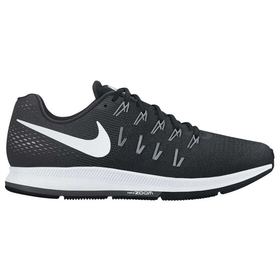 e224df4085f2c Nike Air Zoom Pegasus 33 Womens Running Shoes Black   White US 6 ...