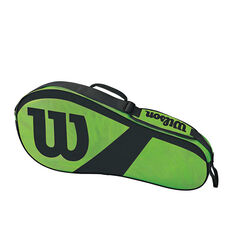 Wilson Match III Tennis Bag Green / Black, , rebel_hi-res