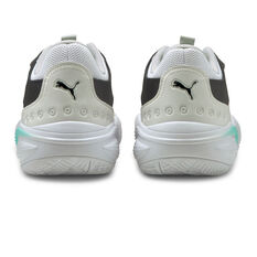 Puma Court Rider Summer Days Basketball Shoes, White, rebel_hi-res