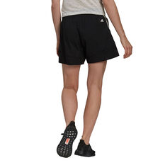 adidas Womens Sportswear Future Icons Shorts Black XS, Black, rebel_hi-res