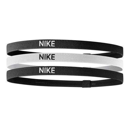 Nike Womens Elastic Hairbands 3 Pack, , rebel_hi-res