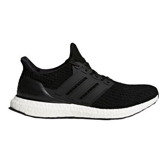 9d3ebb7243f adidas Ultraboost Mens Running Shoes Black   White US 8